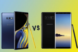 Samsung Galaxy Note 9 vs. Galaxy S8 Plus: Comparación de especificaciones 2021
